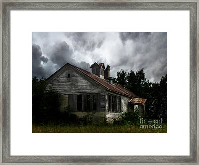 Old School House Framed Print by Ms Judi