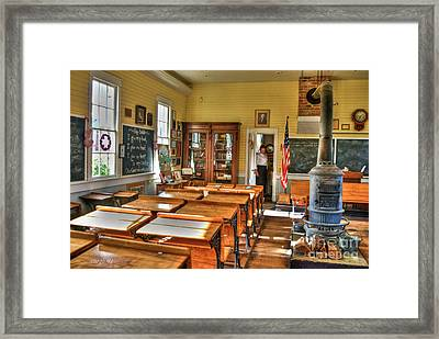 Old School II Framed Print by Diego Re