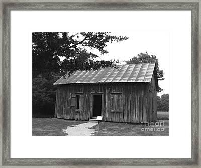 Old School Framed Print by Yumi Johnson