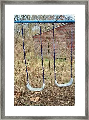 Old Sdwing Set-3 Framed Print by Todd Sherlock
