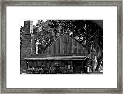 Framed Print featuring the photograph Old Spanish Sugar Mill by DigiArt Diaries by Vicky B Fuller