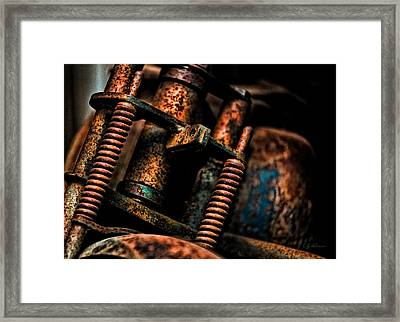 Old Springs Framed Print by Christopher Holmes
