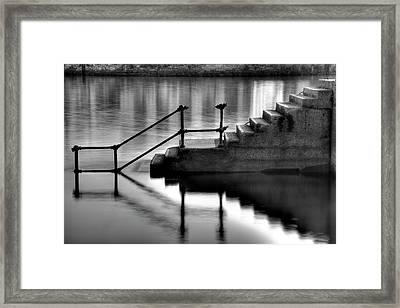 Old Stairway Framed Print by Ander Aguirre photography