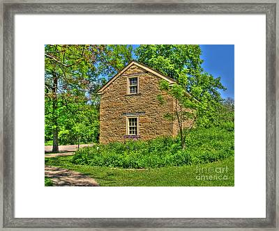 Old Stone House I Framed Print by Jimmy Ostgard