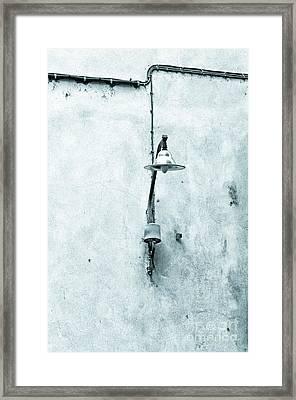 Old Street Lamp Framed Print by Silvia Ganora