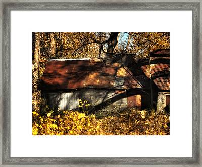 Old Sugar Shack Framed Print