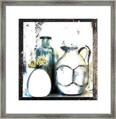 Old Things Beautiful Framed Print by Marsha Heiken