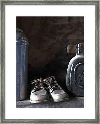 Old Things Framed Print by Cheryl Perin