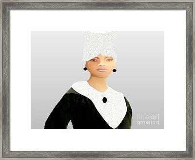 Old Time Uniform Framed Print by Belinda Threeths