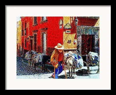 Umaran Street Framed Prints