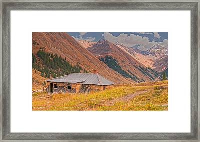 Old Tomboy Village Framed Print