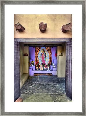 Old Town Chapel II Framed Print