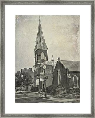 Old Town Church Framed Print