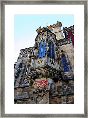 Old Town City Hall Framed Print by Mariola Bitner