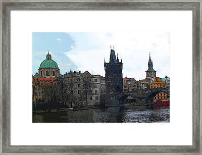 Old Town Prague Framed Print by Paul Pobiak