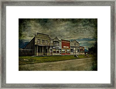 Old Town Witchit  Framed Print by Empty Wall