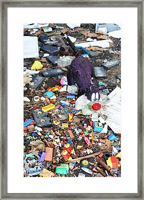 Old Toys Framed Print by Todd Sherlock