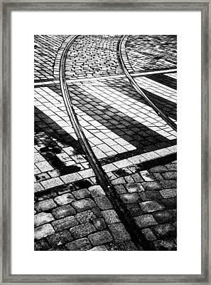 Old Tracks Made New Framed Print by Hakon Soreide