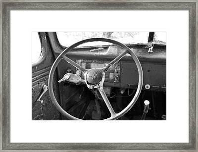 Old Truck Framed Print by Todd Hostetter