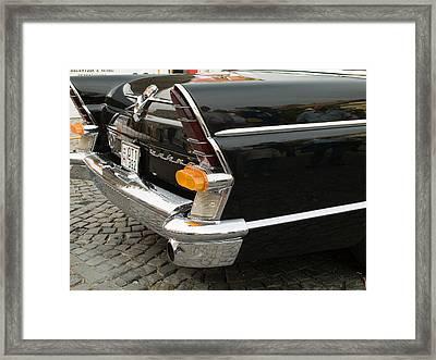 Old Volga Car Framed Print by Odon Czintos