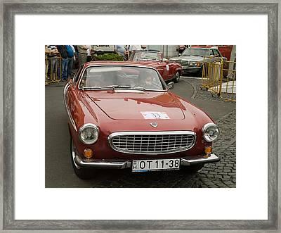 Old Volvo Framed Print by Odon Czintos