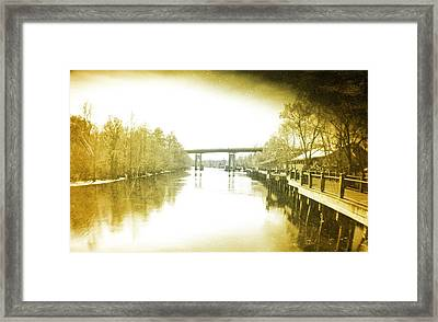 Old Waccamaw River Framed Print by Robert Hawkins