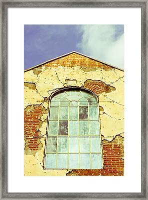 Old Warehouse Framed Print