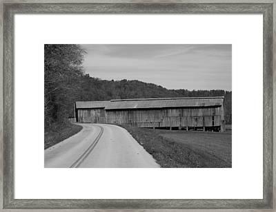 Old Warehouses Framed Print