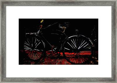 Old Way To Go Framed Print by Jerry Cordeiro
