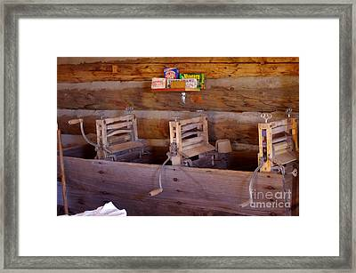 Framed Print featuring the photograph Old West 2 by Deniece Platt