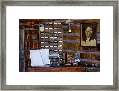 Framed Print featuring the photograph Old West 3 by Deniece Platt
