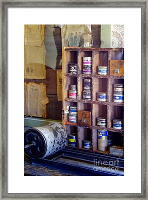Framed Print featuring the photograph Old West 6 by Deniece Platt