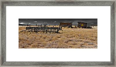 Old West Framed Print