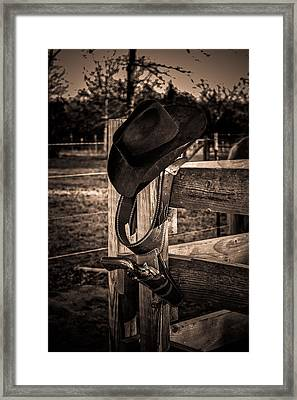 Old West Framed Print by Doug Long