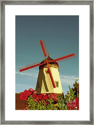 Old Windmill  Framed Print by Paul Topp
