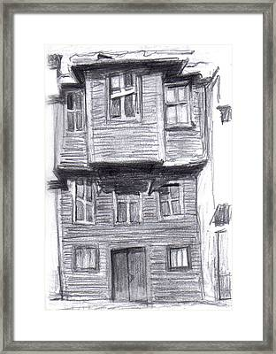 Old Wooden House Framed Print by Di Fernandes