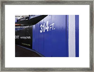Old Yankee Stadium Short Porch Framed Print by Paul Plaine