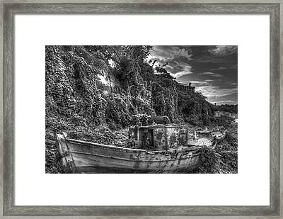 Oldboat Framed Print
