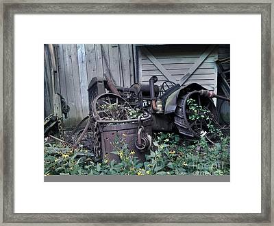 Framed Print featuring the photograph Older Days by Janice Spivey
