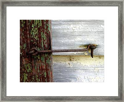 Framed Print featuring the photograph Oldie But Goodie by Lyn Calahorrano