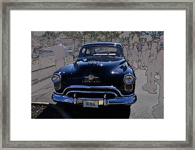 Olds 50 Framed Print by Larry Bishop