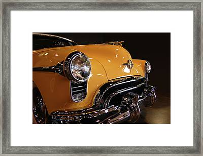 Olds Nose Framed Print by Bill Dutting