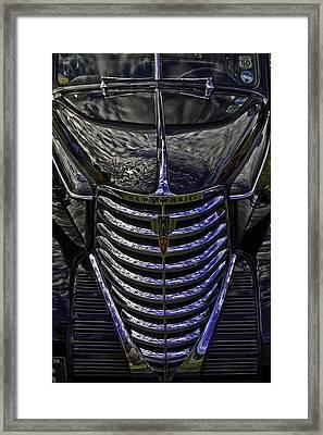 Oldsmobile Reflected Framed Print by Nigel Jones