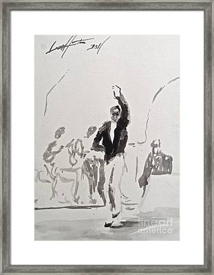 Ole' 2 Framed Print by Wade Hampton