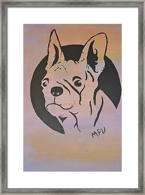 Ole Fella Framed Print by Maria Urso