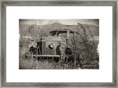 Framed Print featuring the photograph Ole Studebaker II by Laurinda Bowling