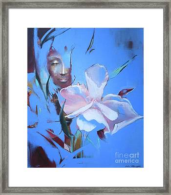 Oleandera Framed Print