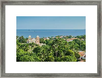 Olinda, Pernambuco - Brasil Framed Print by Alfredo J G A Borba