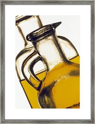 Olive Oil Framed Print by Tony Craddock