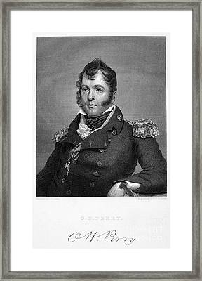 Oliver Hazard Perry Framed Print